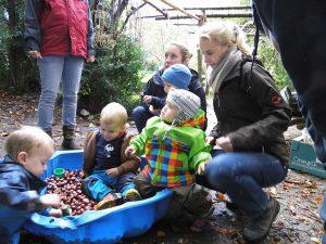 EKP Waldgruppe ab 15 Monate @ 82205 Gilching, Erlebnisbaumschule am Steinberg