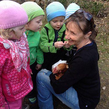 Kindergeburtstag feiern mit der Erlebnis-Baumschule